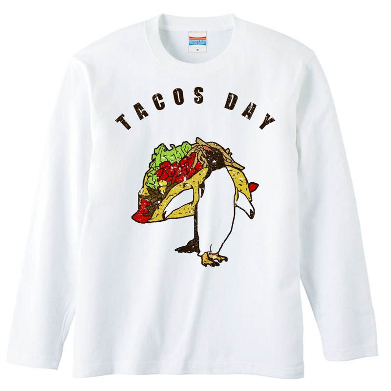 Long sleeve T shirt / tacos day