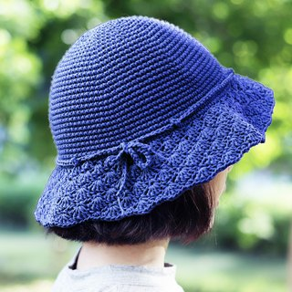 RedCheeks Summer Hat Cap - Deep Blue Color | Cute |