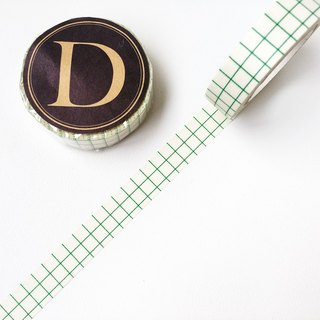 Kurashiki artisan and paper tape [12mm square eye replica - green (45019-12)]
