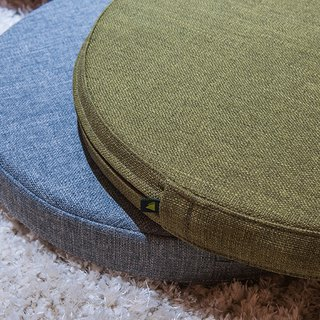 The hill full matte green linen upholstery