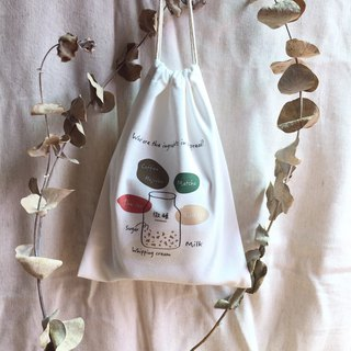 Wei Wei - beverage green bag
