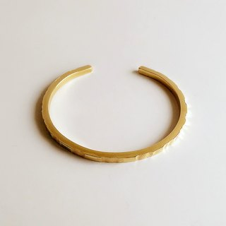 [Original color] Hand-made brass Irregular bracelet