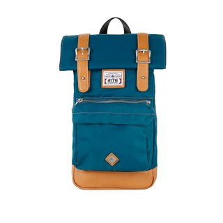 2016 Evolution version RITE twin package ║ flight bag x vintage bag (M) - nylon blue-green ║