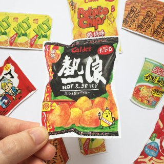Hong Kong Series - Hong Kong Snacks Stickers