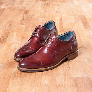 Vanger 绅 high. Horizontal embossed 徳 增 higher shoes Va251 red