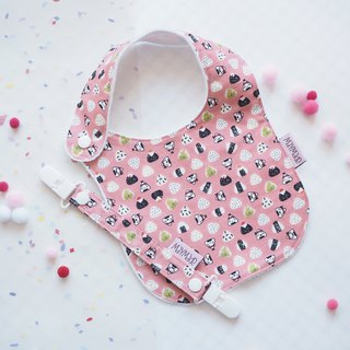 Rice Ball Style Handmade Bib Box Set