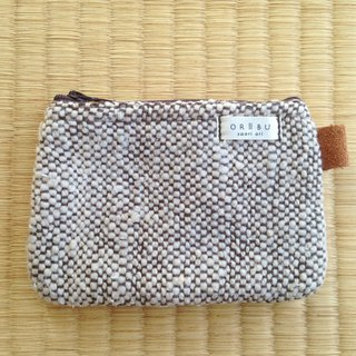 Coin case with gusset with gusset B