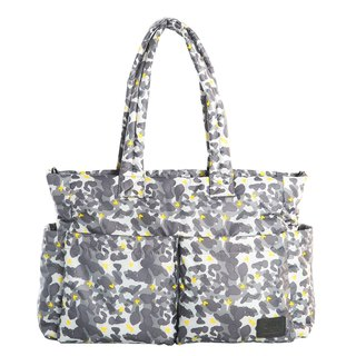 Large capacity big opening tote bag _ love camouflage Gayat tote bag _ light group _ parenting package _ mother bag