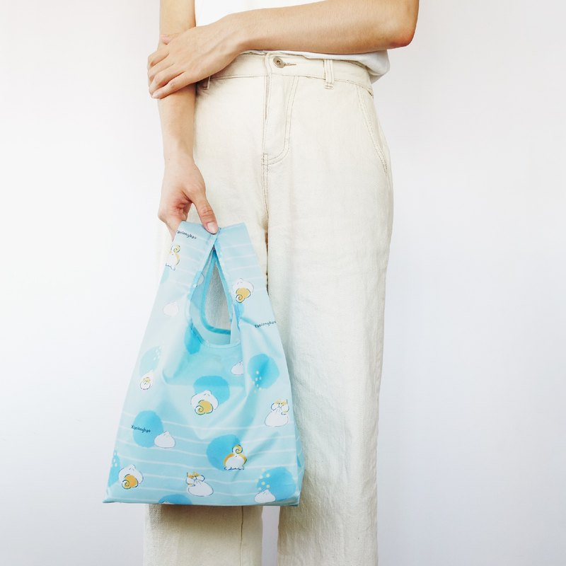 【袋走-環保購物袋】小柴包-可折疊收納