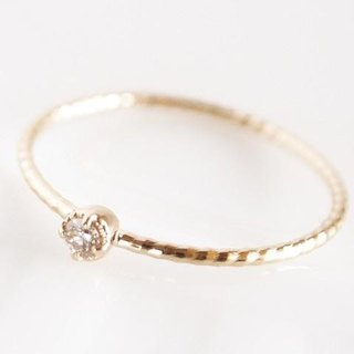 K10 Classical Diamond Ring