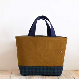 Handbag - Saturn x Green Grid EH106