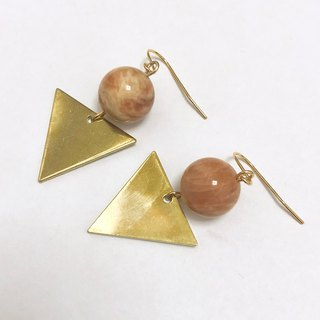 Sunstone series earrings