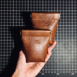Reed bag leather hand storage
