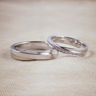 Valentine's Day Gift ♥ Ohappy Ring Collection | Infinite Sterling Silver Ring