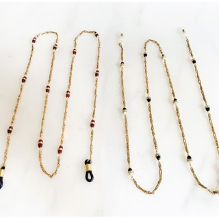 Minertés=Elegant temperament glasses chain