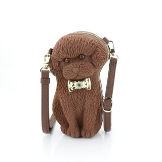 Adamo 3D Bag Original Bow Poodle Sling Bag