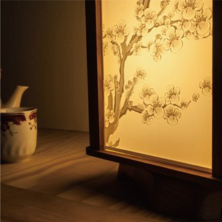 [customized gift] art rotating light box double light box wedding Valentine's day preferred photo engraving