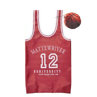 Japan Magnets super love basketball jersey green shopping bag / storage bag (red) - spot