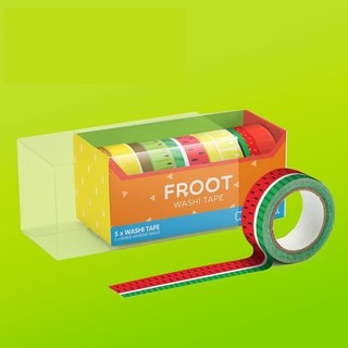 British Mustard paper tape - just fruit