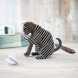 SORRY CAT/3D Craft Gift/DIY/black