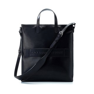 Black waterproof EAP tote bag