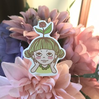 *Mint Monsters*Flowered - Stickers