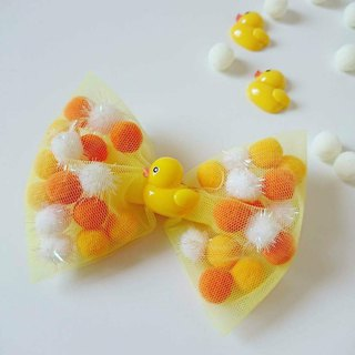 Bonbon Baby Candy Ball Manual Hairpin_Yellow Duckling