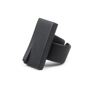 Recovery illusion building ring (fog black)