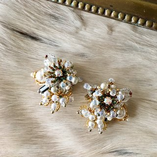 Pearl Bijou Earrings