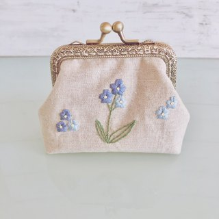 Order Production frame purse M Forgetmenot