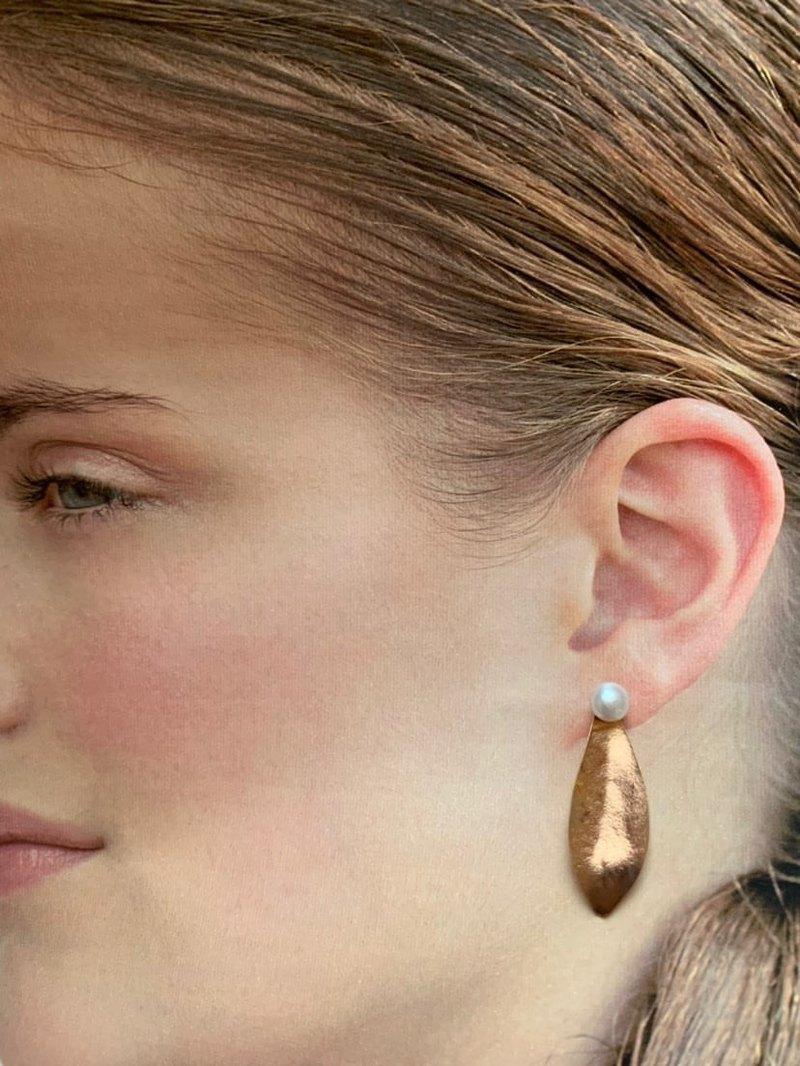 Leaf 2way耳環