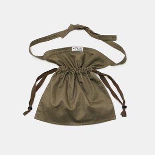Utility 2-Way Apron Bag - Dark Khaki