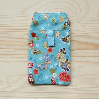 Flower Butterfly Pocket Pen / With Document Bag