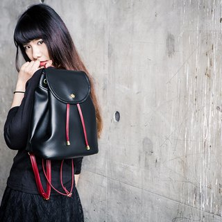 CLM Classic Backpack_Black Red