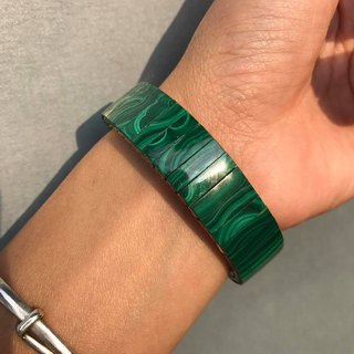 【Lost And Find】Natural  Malachite bracelet