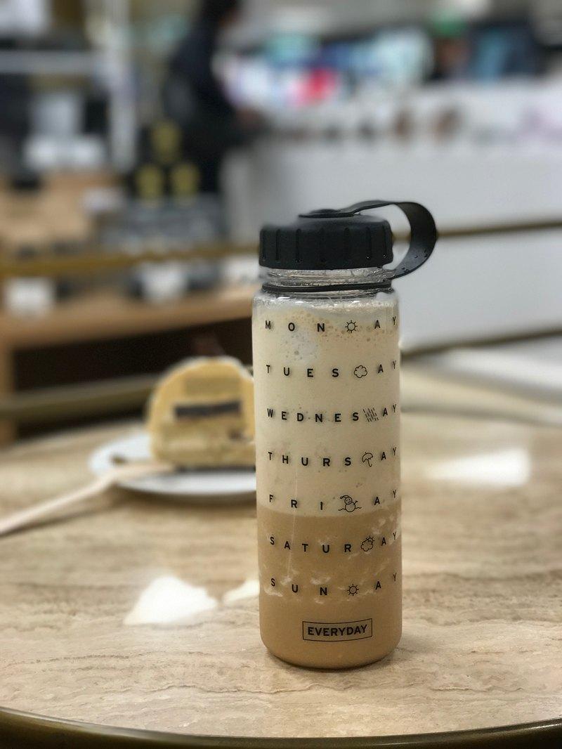 WEMUG 設計 禮物環保 戶外隨身瓶水壺水瓶 - EVERYDAY透明 500ml