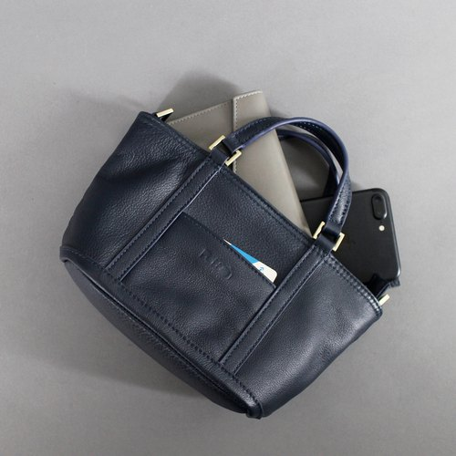Passion sachet bag blue portable / shoulder / oblique back