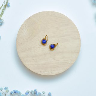 Suddenly (earrings series) Lapis Lazuli - a peaceful gift
