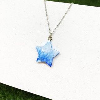 [Winter Snow] - Five Star Necklace