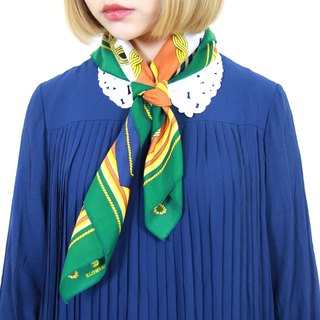 Back to Green :: classical clip scarf soldier vintage scarf (SC-06)