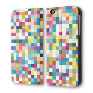 AppleWork iPhone 6 / 6S can be vertical flip leather Pixel PSIB6S-037
