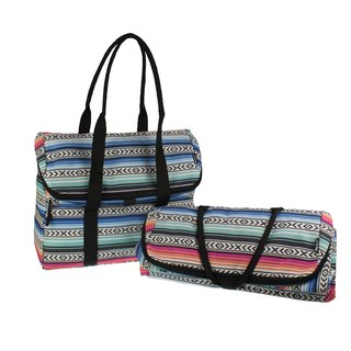 United States [PACKiT] ice cool picnic Tote bag (ethnic style) mobile refrigerator