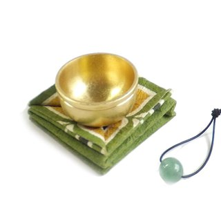Portable copper enamel (gold - Dongling stone)
