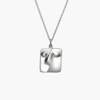 P & I handmade silver jewelry # solid sense - Klimt <Kiss # 2> small section S