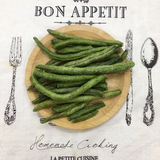 [When good fruits and vegetables meet good God protection] green beans / sensitive bean crisps 80g upgrade version