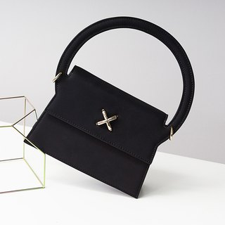 MBS [Series of ReberHeart] Suzuno Matte Leather Handcuff Crossbody Bag