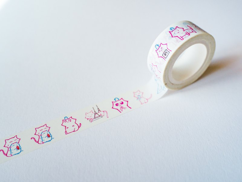 A Pigeon A meow paper tape