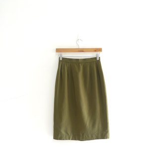 │Slowly │ Grass Green - Vintage Dress │vintage. Vintage.