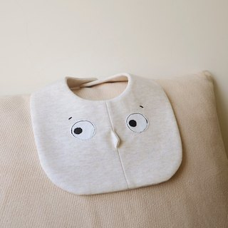 Invisible Friends C organic cotton bib bibs
