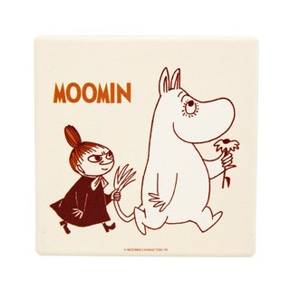 Moomin Moomin authorization - water coaster: stooge [] (circle / square)